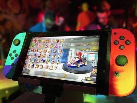 Nintendo Switch, Nintendo, Switch, Games