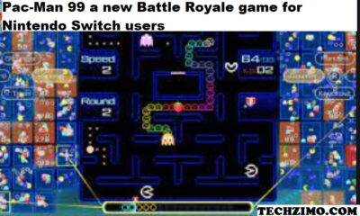Pac-Man 99 a new Battle Royale game