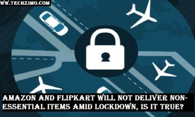 Amazon and Flipkart will not deliver non-essential items amid lockdown, Is it true?