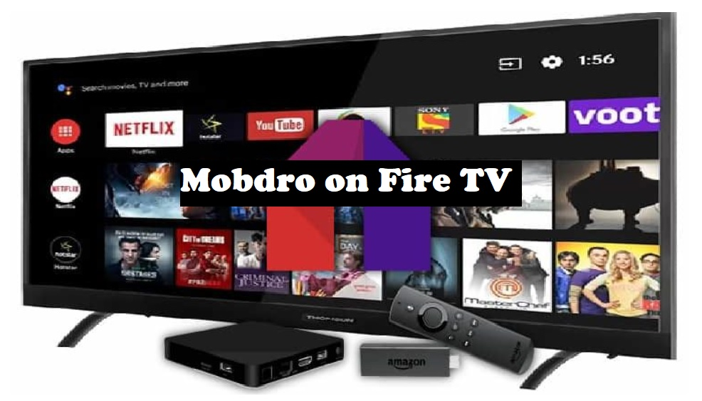 Mobdro on Fire TV