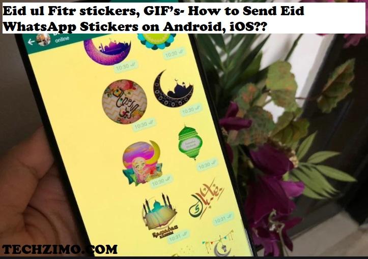 Eid ul Fitr stickers
