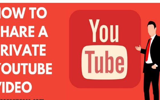 Share YouTube Private Video