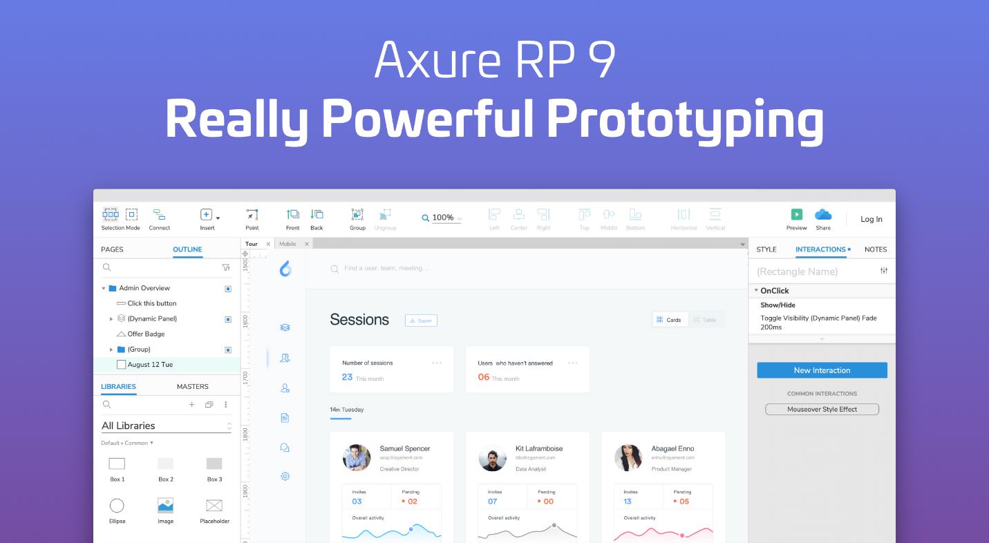 Axure RP 9 专业版V9.0.0.3727 - macOS破解- 破解的Mac应用程序& 游戏类