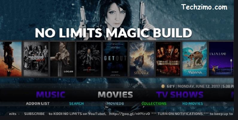 Kodi no limits magic build