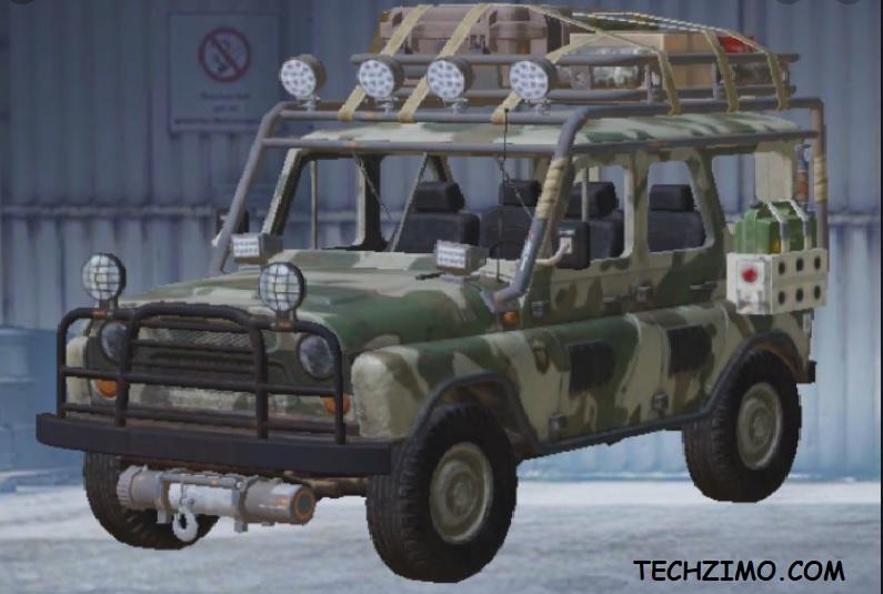 PUBG's UAZ jeep