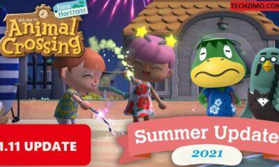 Animal Crossing New Horizons update 1.11.0
