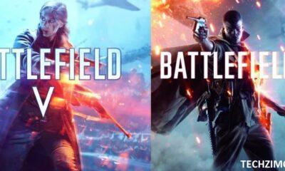 Battlefield 1 and Battlefield V
