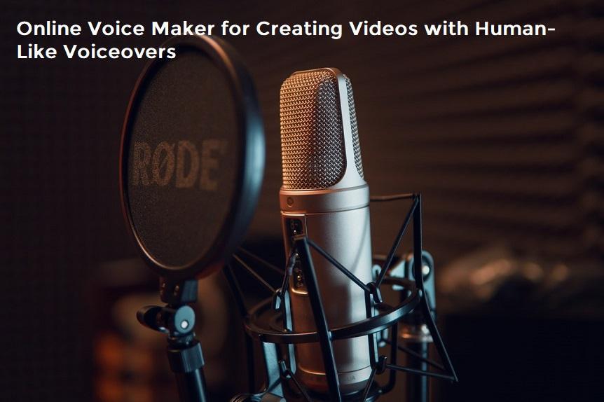 Online Voice Maker