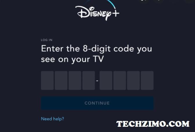Disneyplus.Com Login/Begin 8 Digit Code
