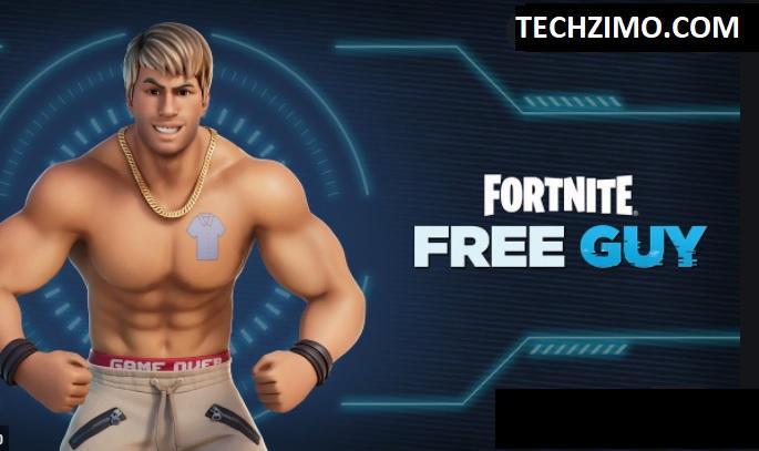 Free Guy emote in Fortnite
