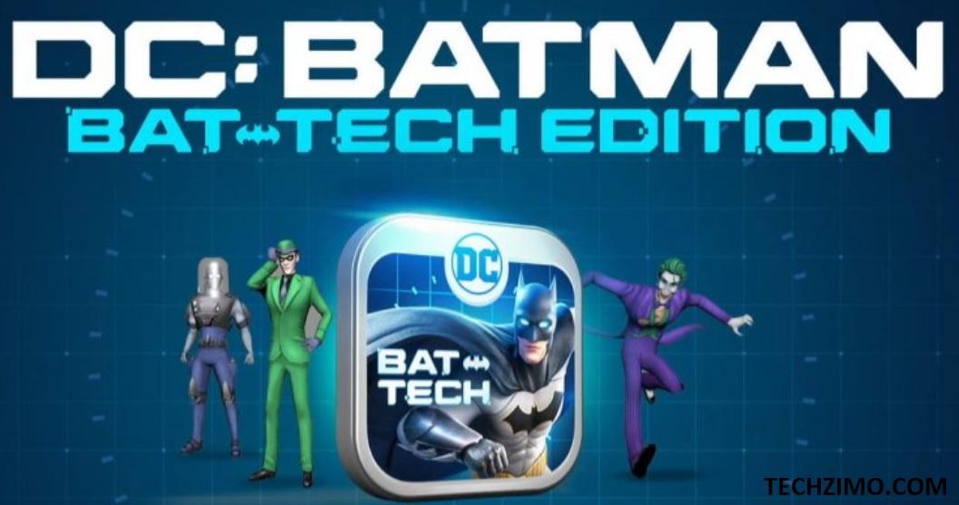 Batman Bat-Tech Edition app