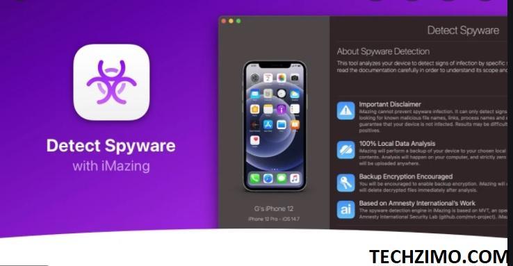 Pegasus Spyware on iPhone
